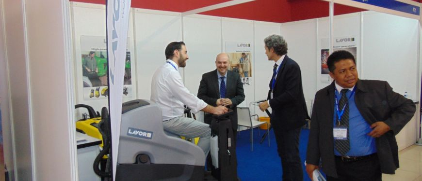Lavor Cleaning Expo 2014